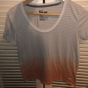 Ombré Nike Dri-Fit Short Sleeve Shirt